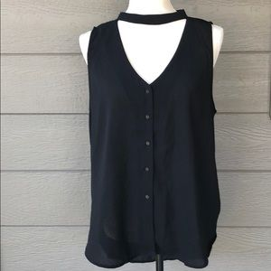 Staccato Sleeveless Blouse